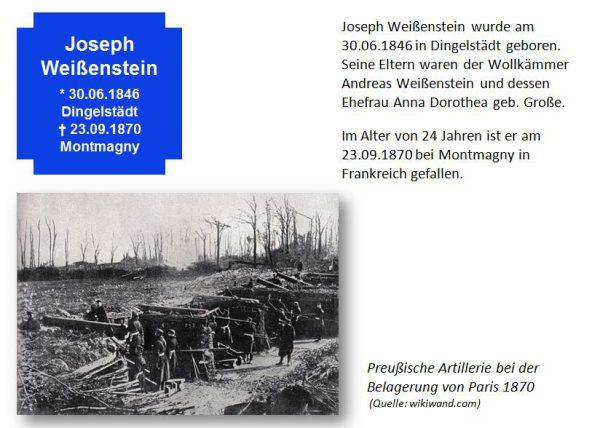 Weißenstein, Joseph