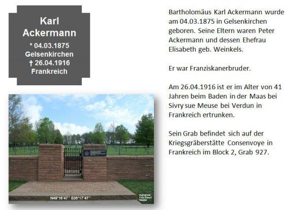 Ackermann, Karl