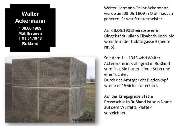Ackermann, Walter