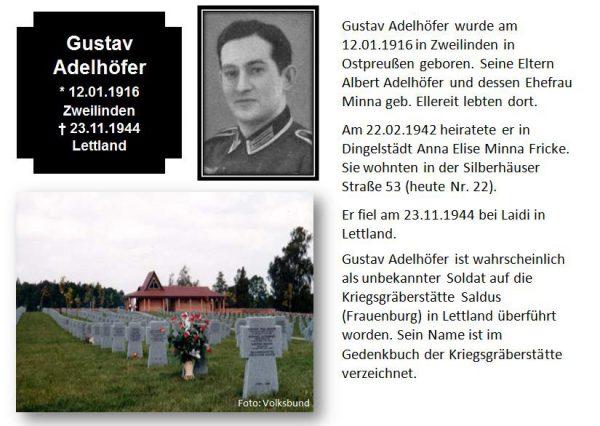 Adelhöfer, Gustav
