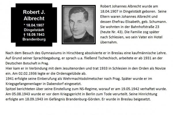 Albrecht, Robert J.