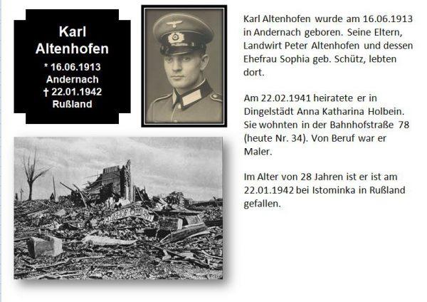 Altenhofen, Karl