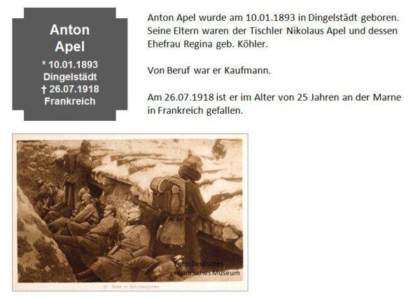 Apel, Anton