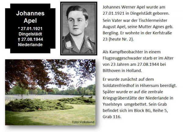 Apel, Johannes
