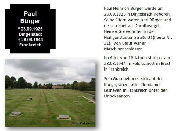 Bürger, Paul