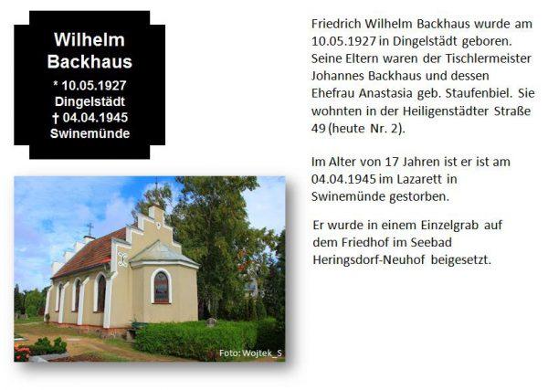 Backhaus, Wilhelm