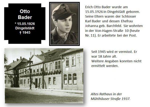 Bader, Otto