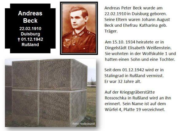 Beck, Andreas