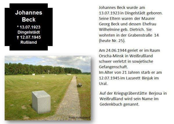 Beck, Johannes