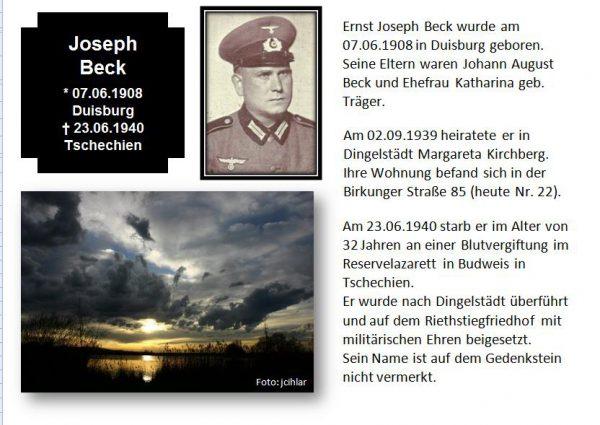 Beck, Josef