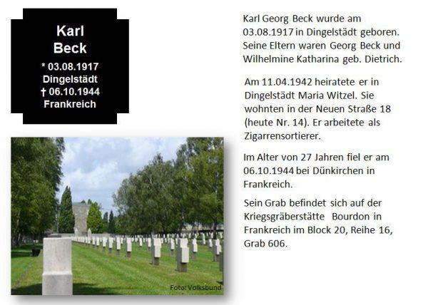 Beck, Karl