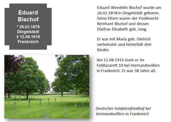Bischof, Eduard