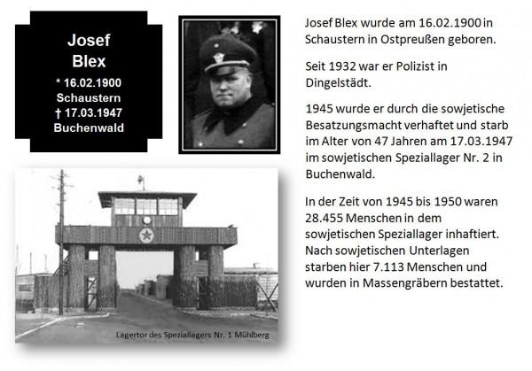 Blex, Josef