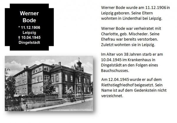 Bode, Werner