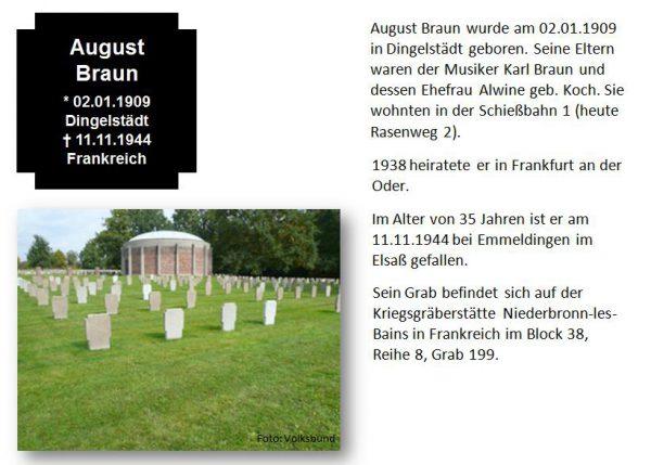 Braun, August