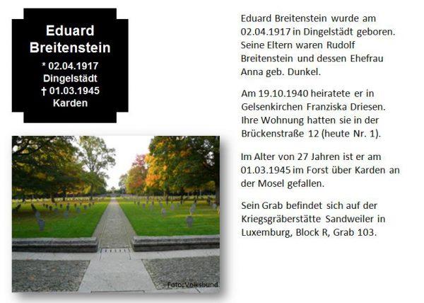 Breitenstein, Eduard