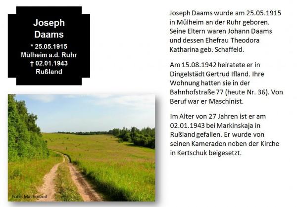 Daams, Joseph