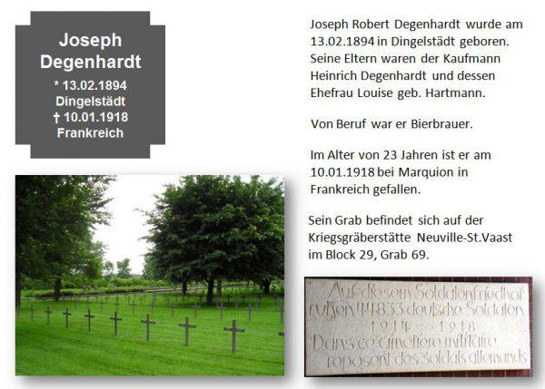 Degenhardt, Joseph