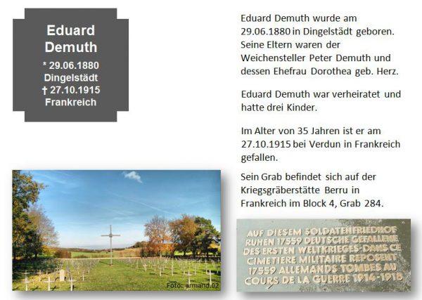 Demuth, Eduard