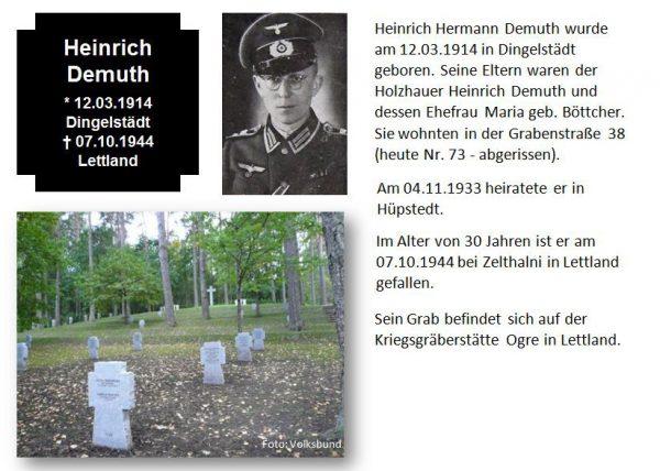 Demuth, Heinrich