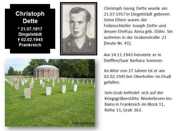 Dette, Christoph