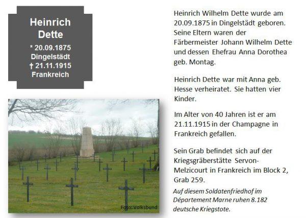 Dette, Heinrich