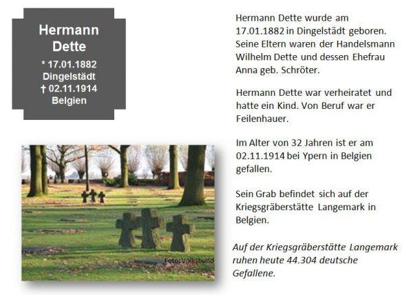 Dette, Hermann