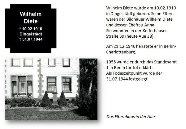Diete, Wilhelm