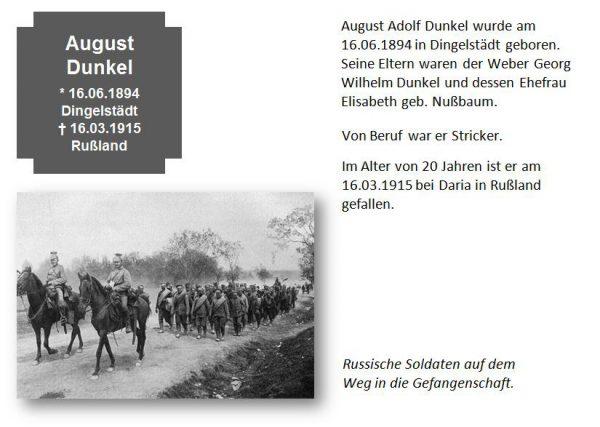 Dunkel, August
