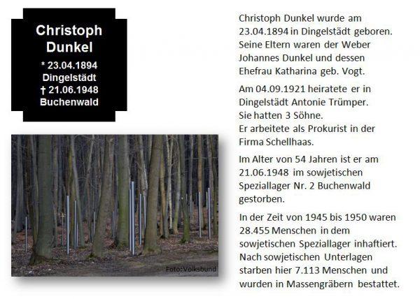 Dunkel, Christoph