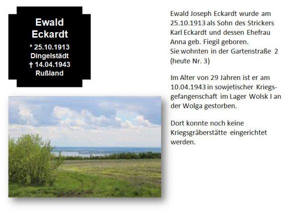 Eckardt, Ewald