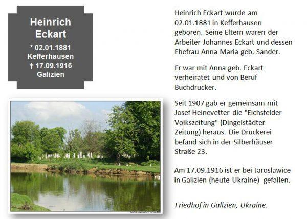 Eckart, Heinrich