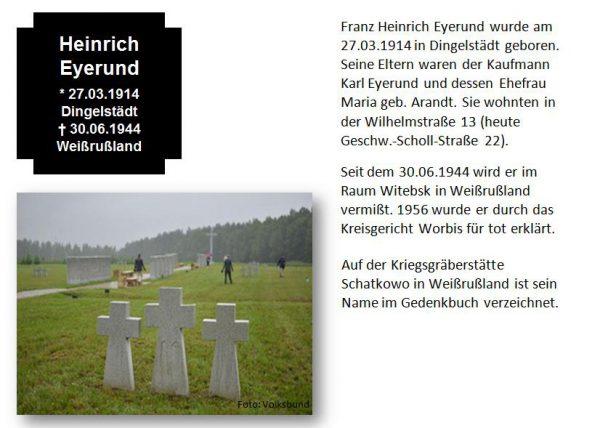 Eyerund, Heinrich