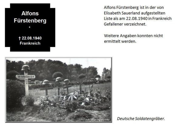 Fürstenberg, Alfons