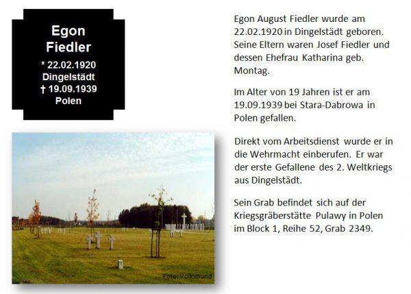 Fiedler, Egon