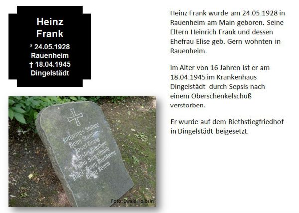 Frank, Heinz