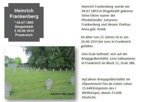 Frankenberg, Heinrich