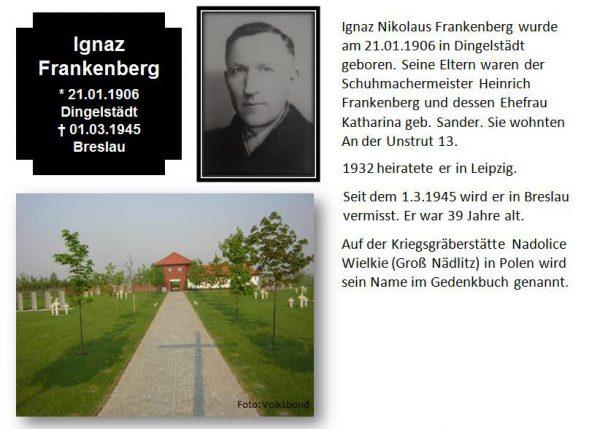 Frankenberg, Ignaz