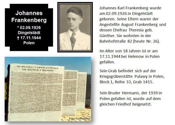 Frankenberg, Johannes
