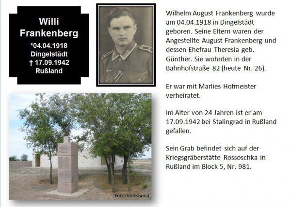 Frankenberg, Willi