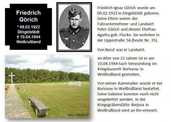 Görich, Friedrich
