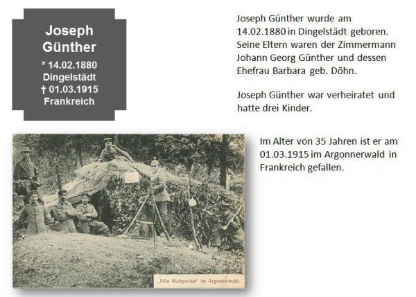 Günther, Joseph
