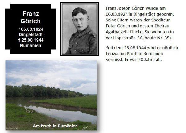 Görich, Franz