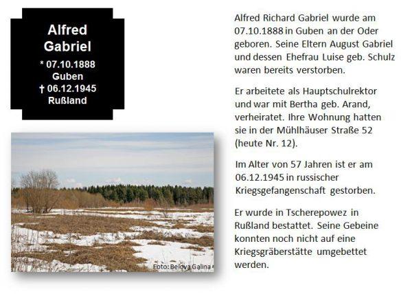Gabriel, Alfred