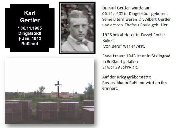 Gertler, Dr. Karl