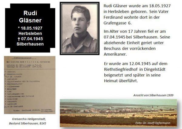 Gläsner, Rudi