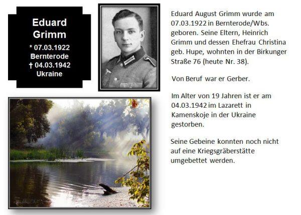 Grimm, Eduard