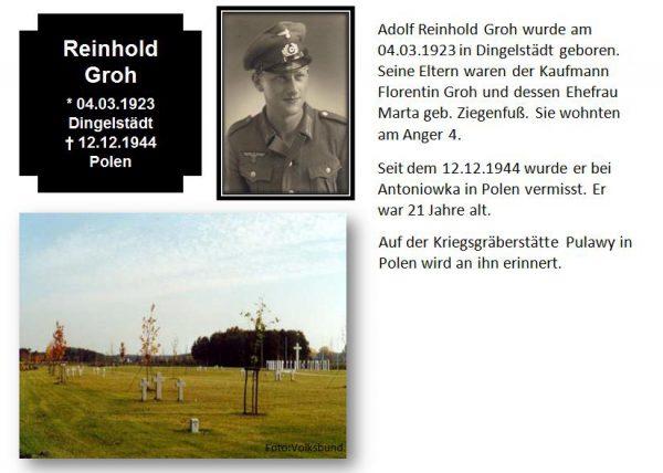Groh, Reinhold