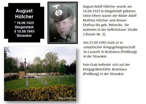 Hütcher, August