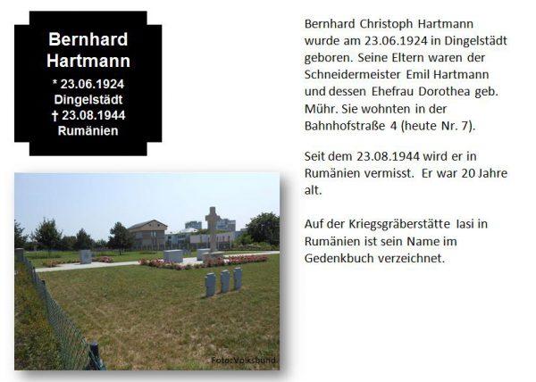 Hartmann, Bernhard
